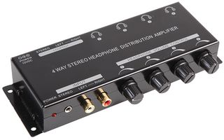 4 Channel Headphone Amplifier