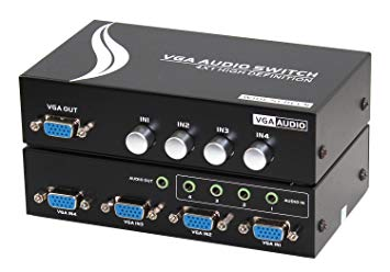 4 Channel VGA Switch