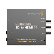Blackmagic SDI – HDMI Converter