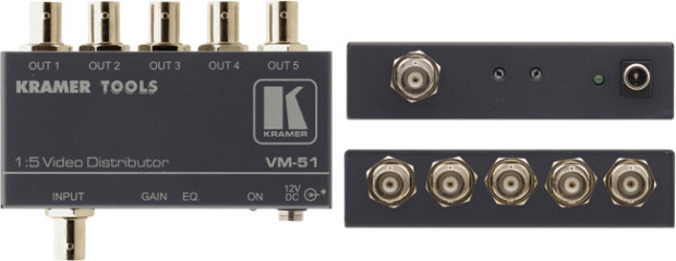 Kramer 1:5 Composite Video Distributor