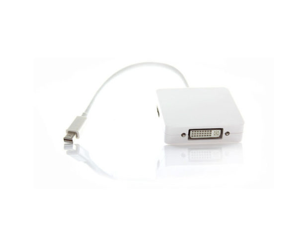 MiniDisplayPort 3in1 HDMI/DVI/DP Adapter