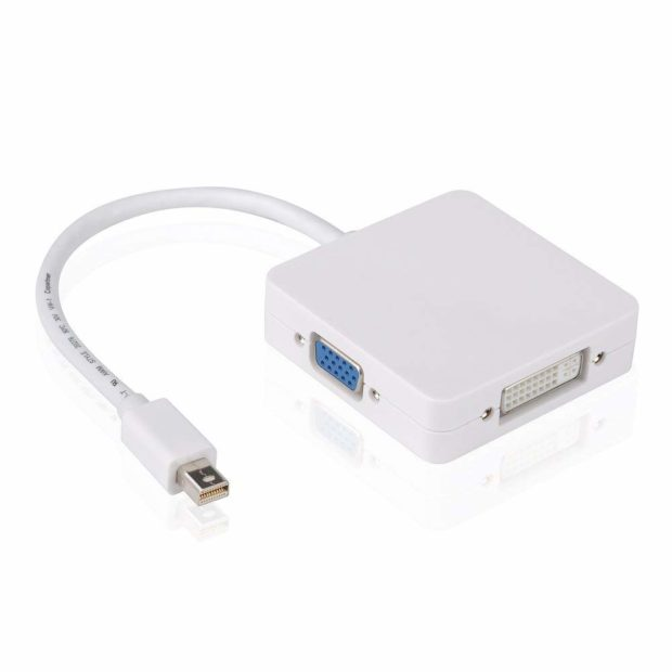 MiniDisplayPort-3in1 HDMI/VGADVI Adapter