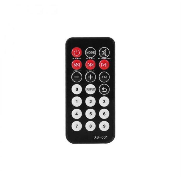 QTX QR15PA Remote Control