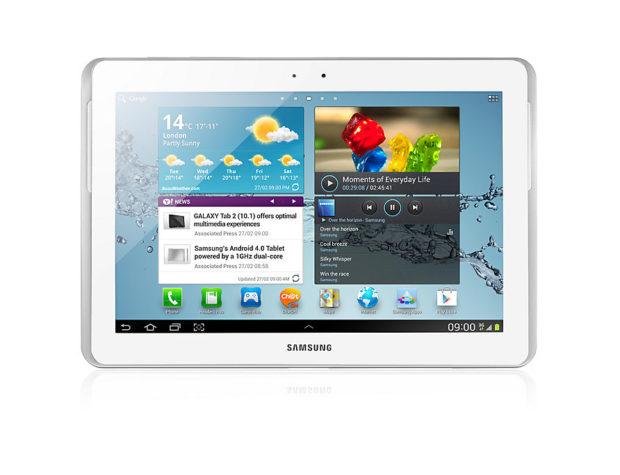 Samsung P7500 Galaxy Tab 10.1 3G White