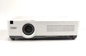 Sanyo 3000 ANSI Lumens (PLC-XU78) Projector