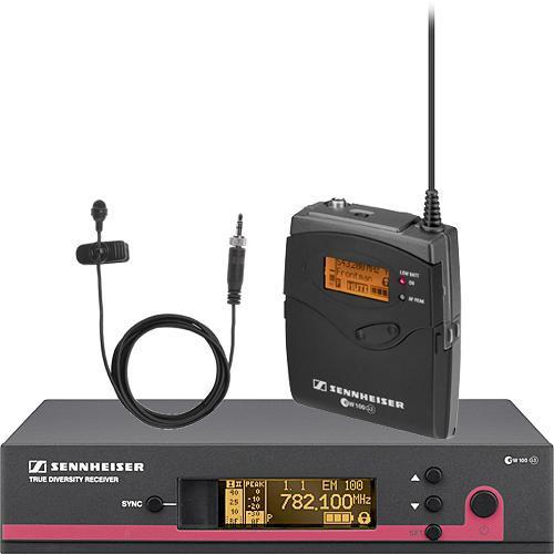 Sennheiser Lapel+Headset Radio Mic