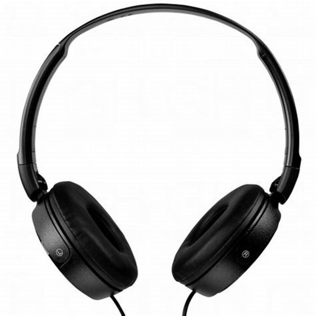 Sony MDR-ZX310APB Headphones-Black (Noise Cancelling)