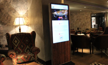 How to use digital signage for events