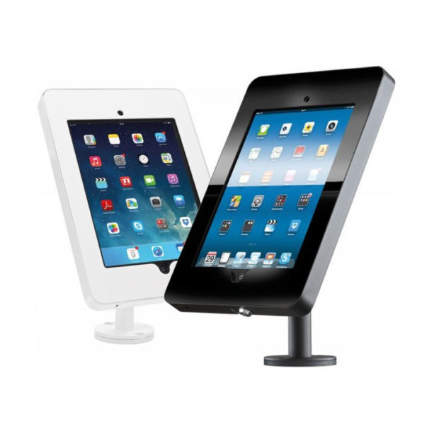 iPad Counter Mounts White
