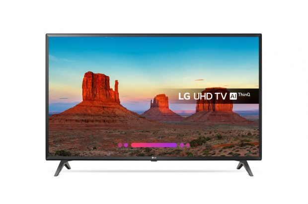 43″ LG 43UK6300PLB 4K TV