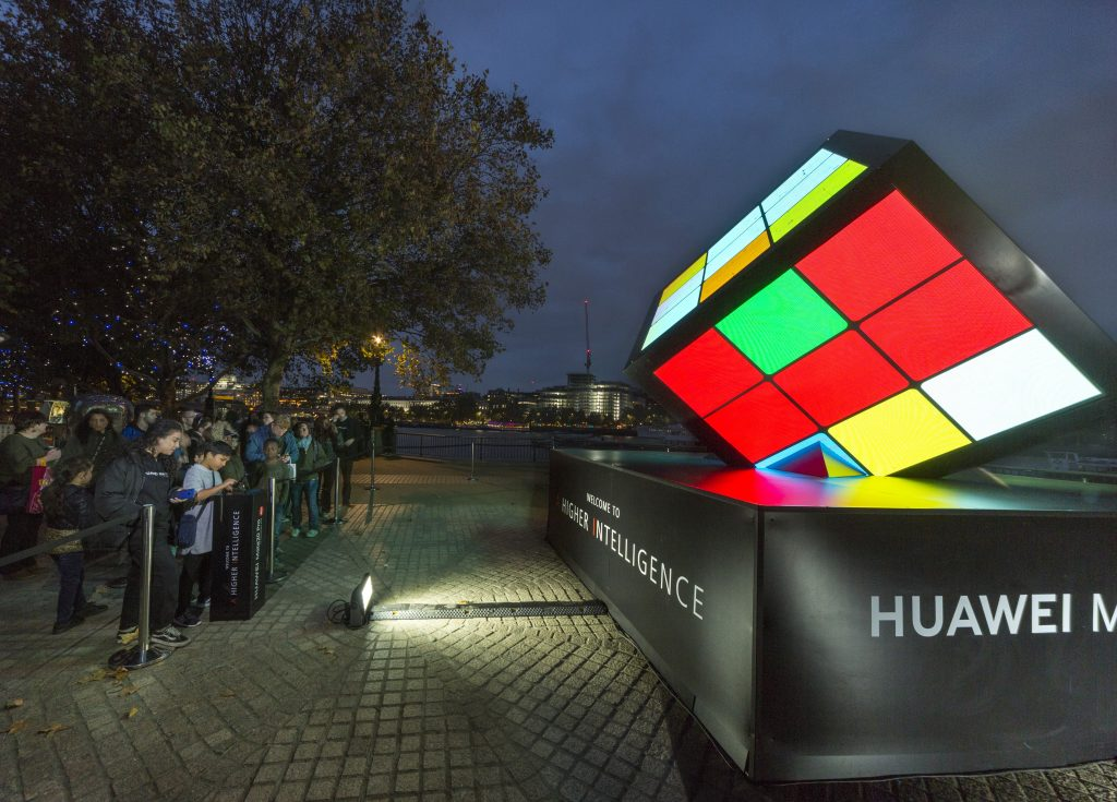 LED Rubix Cube