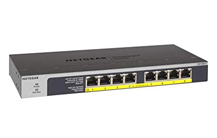 Netgear GS108LP 8 Port Unmanaged Gigabit PoE Switch