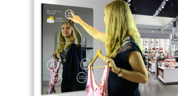 Magic Touch Interactive Mirror