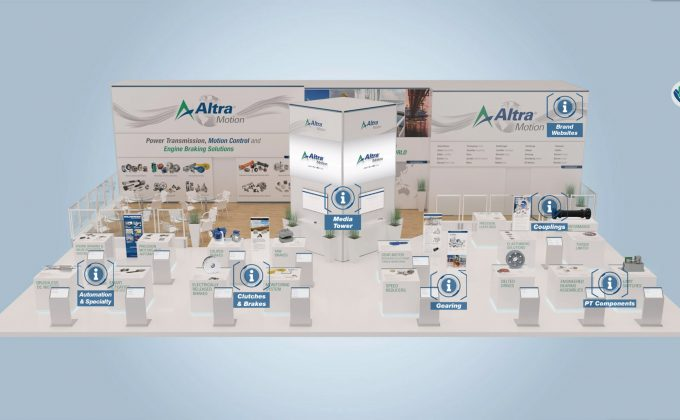 Product based virtual exhibition stand
